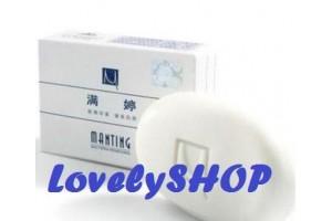 Manting Acarus-Preventing мыло от демодекоза, подкожного клеща (БЕЛОЕ)