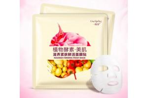 One Spring Nourish Firming Fresh Mask тканевая маска с экстрактом Пиона