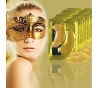 Коллагеновые маски-патчи для глаз с био-золотом Crystal Collagen Gold Powder Eye Mask