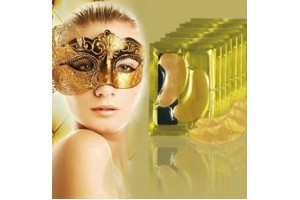 Коллагеновые маски-патчи для глаз с био-золотом Crystal Collagen Gold Powder Eye Mask