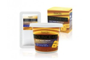 Ramosu Bounce-UP Gold Mask Альгинатная маска с золотом и Жожоба (1 применение)