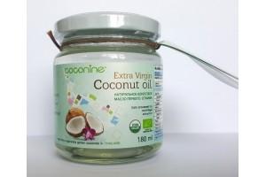 Кокосовое масло Coconine oil Extra Virgin  180 мл (Glass)